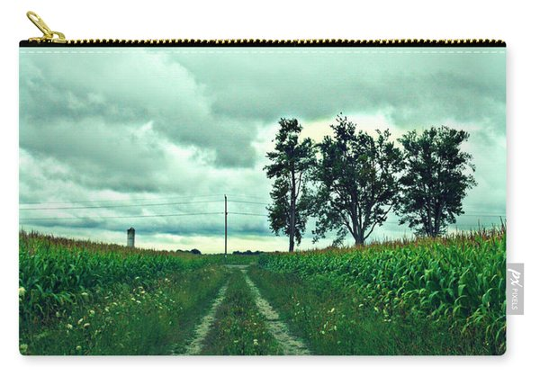 Caressing The Corn Path Carry-all Pouch