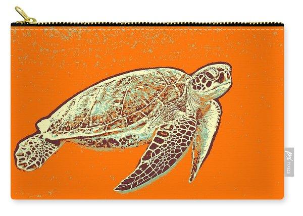 Caretta Caretta Sea Turtle Carry-all Pouch