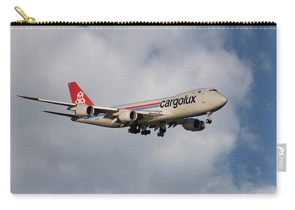 Cargolux Boeing 747-8r7 5 Carry-all Pouch