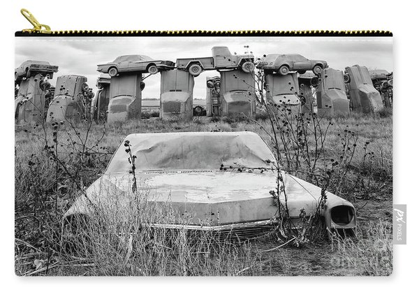 Carhenge Nebraska 22 Carry-all Pouch