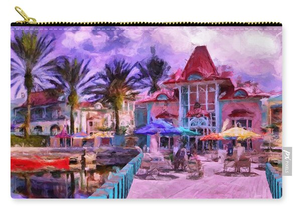 Caribbean Beach Resort Carry-all Pouch