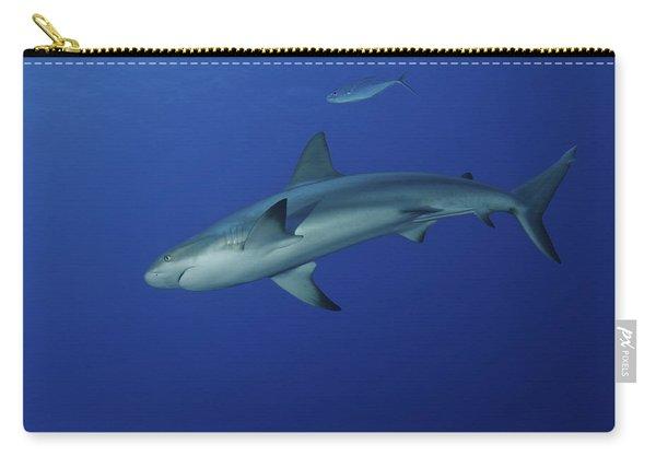 Caribbean Reef Shark, West Caicos Carry-all Pouch
