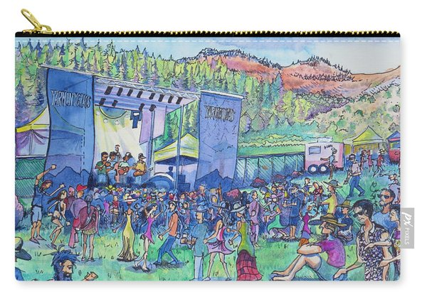 Caribou Mountain Collective At Yarmonygrass Carry-all Pouch