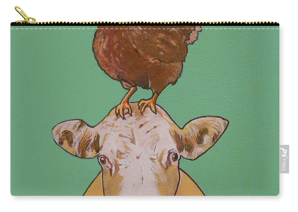 Carlyle The Cow Carry-all Pouch