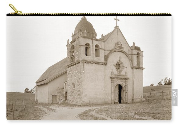 Carmel Mission South Side Circa 1915 Carry-all Pouch
