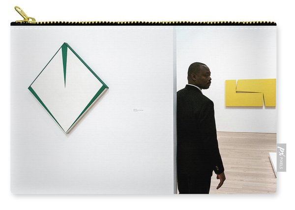Carmen Herrera At The Whitney 1 Carry-all Pouch