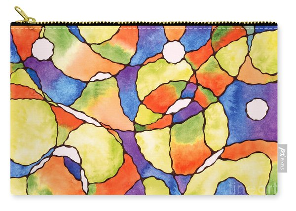 Carnival Balloons Watercolor Carry-all Pouch