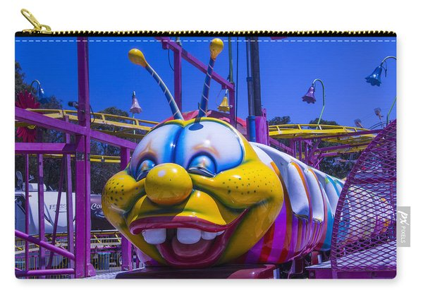 Carnival Caterpillar Ride Carry-all Pouch