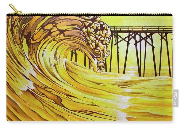 Carolina Beach North End Pier Carry-all Pouch