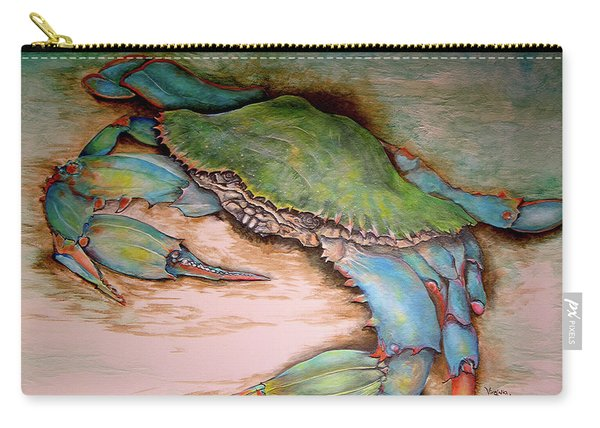 Carolina Blue Crab Carry-all Pouch