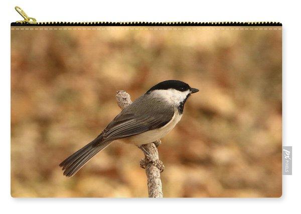 Carolina Chickadee On Branch Carry-all Pouch