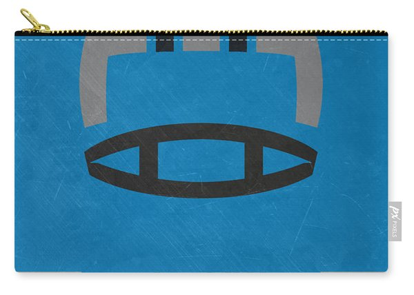 Carolina Panthers Vintage Art Carry-all Pouch