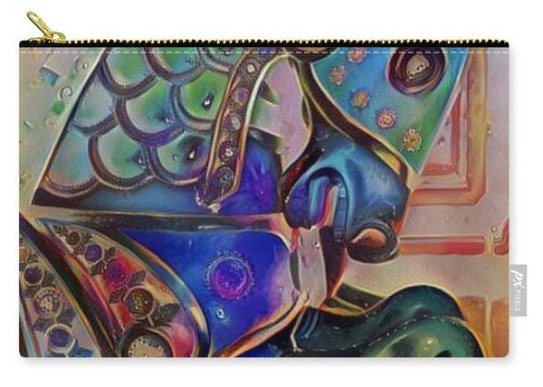 Carousel Horse Peach Dream Carry-all Pouch