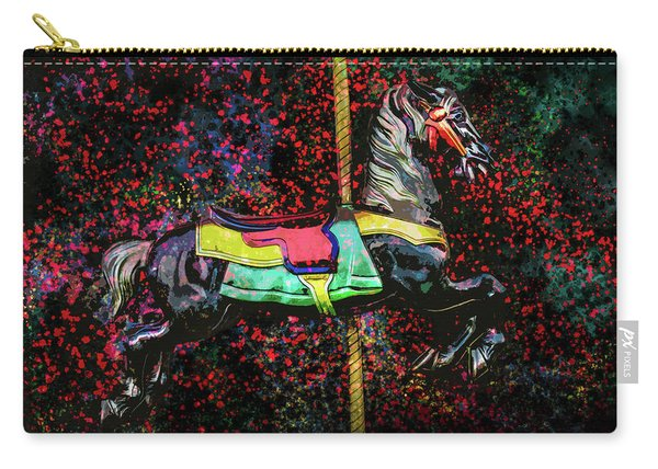 Carousel Number 16 Carry-all Pouch