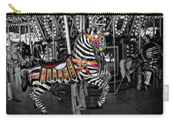 Carousel Zebra Series 2222 Carry-all Pouch