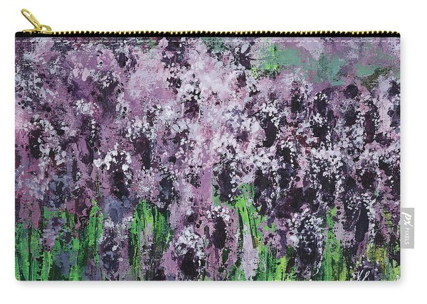 Carpet Of Lavender Carry-all Pouch