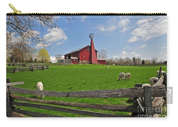 D14d-43 Carriage Hill Farm Metro Park Photo Carry-all Pouch