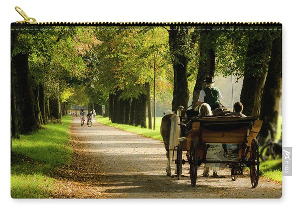 Carriage Ride In Hellbrunn Carry-all Pouch