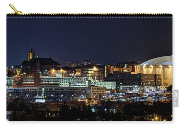Carrier Dome And Syracuse Skyline Panoramic View Carry-all Pouch