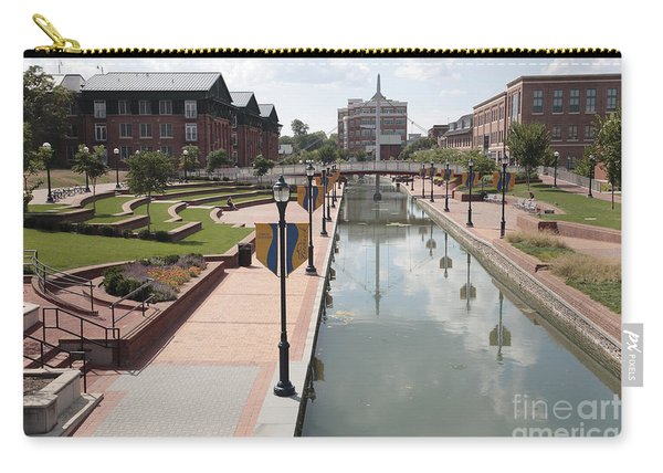 Carroll Creek Park In Frederick Maryland Carry-all Pouch