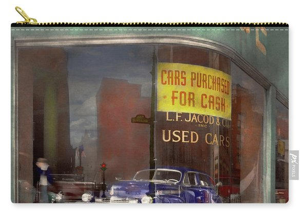 Cars - Used - Cars Purchased For Cash 1943 Carry-all Pouch