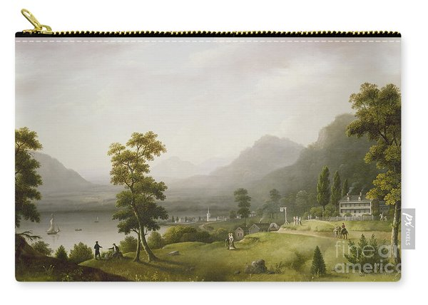 Carter's Tavern At The Head Of Lake George Carry-all Pouch