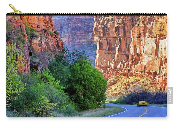 Carving The Canyons - Unaweep Tabeguache - Colorado Carry-all Pouch