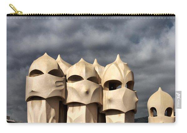 Casa Mila Masks Carry-all Pouch