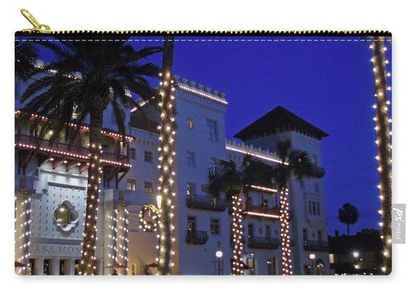 Casa Monica Inn Night Of Lights Carry-all Pouch