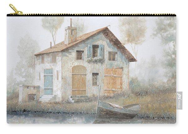 Casa Pallida Nella Nebbia Carry-all Pouch