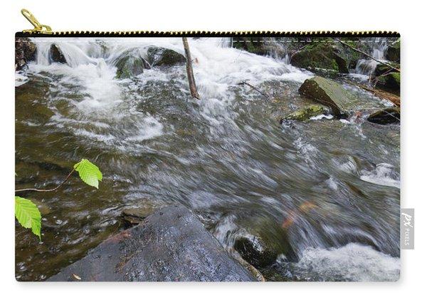 Cascade Falls Stream, Farmington, Maine  -30329 Carry-all Pouch