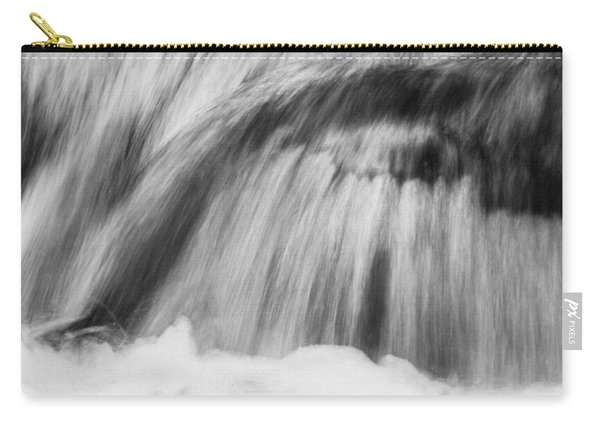 Cascade In Monochrome Carry-all Pouch