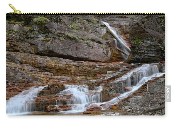 Cascades At Virginia Falls Carry-all Pouch
