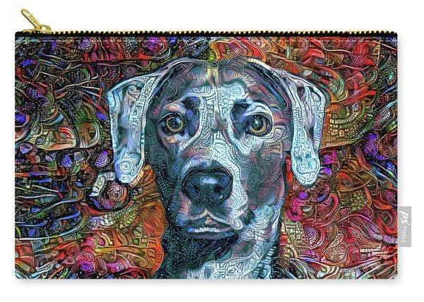 Cash The Blue Lacy Dog Carry-all Pouch