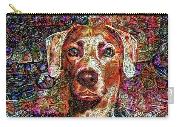 Cash The Lacy Dog Carry-all Pouch