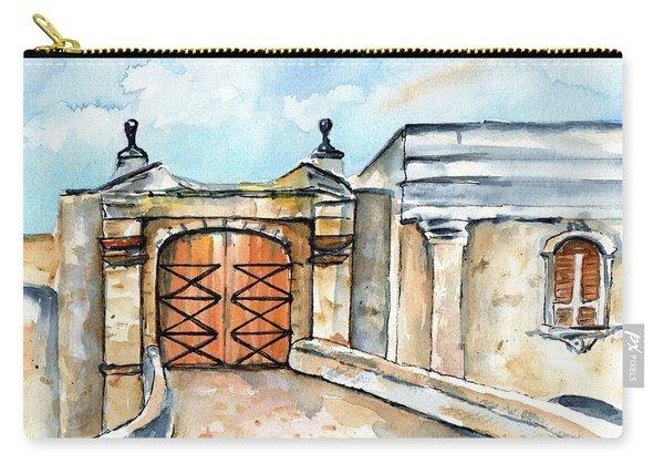 Castillo De San Cristobal Entry Gate Carry-all Pouch