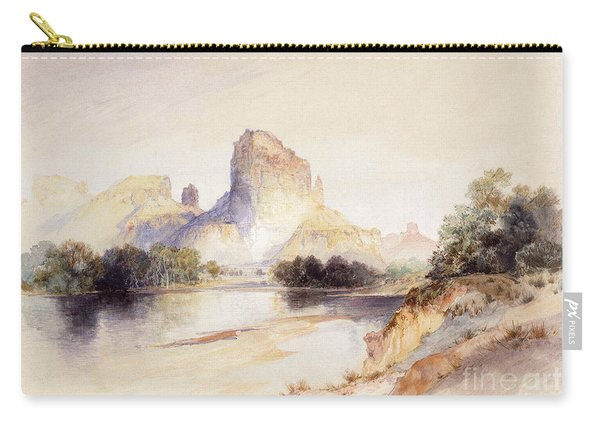 Castle Butte, Green River, Wyoming Carry-all Pouch