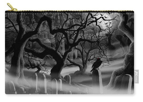 Castle Graveyard I Carry-all Pouch