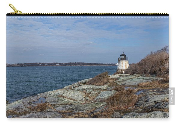 Castle Hill Lighthouse On Narragansett Bay Carry-all Pouch