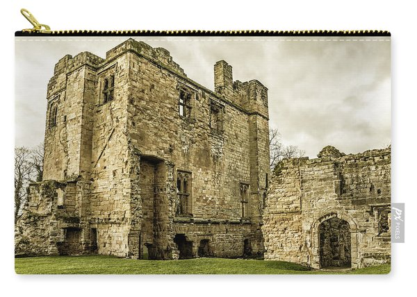 Carry-all Pouch featuring the photograph Castle Of Ashby by Nick Bywater
