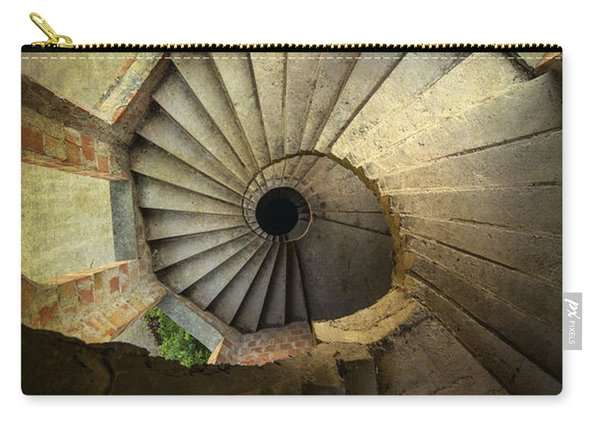 Carry-all Pouch featuring the photograph Castle Of Unfinished Dreams by Jaroslaw Blaminsky