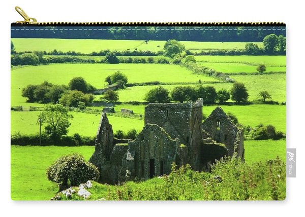 Castle Ruins Countryside Carry-all Pouch