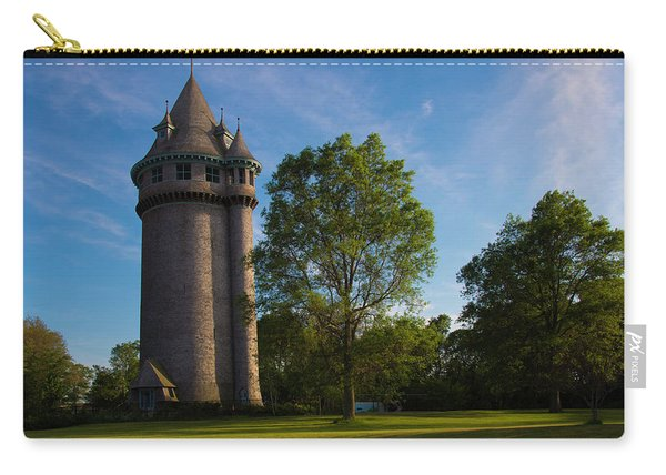 Castle Turret On The Green Carry-all Pouch