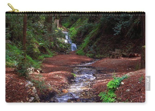 Castro Canyon In Big Sur Carry-all Pouch