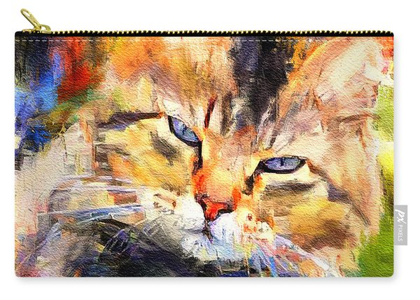 Cat Color Carry-all Pouch