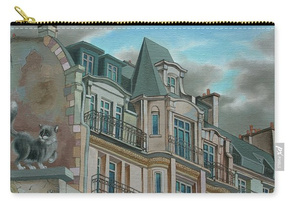 Cat From A Boulevard Montparnasse Carry-all Pouch