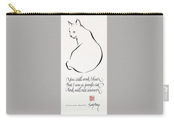 Cat Haiku Carry-all Pouch