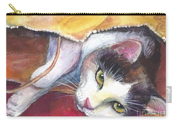 Cat In A Bag Painting Carry-all Pouch