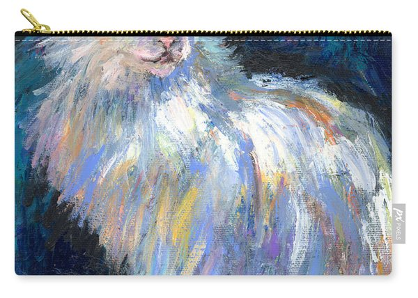 Cat In A Sun Painting  Carry-all Pouch