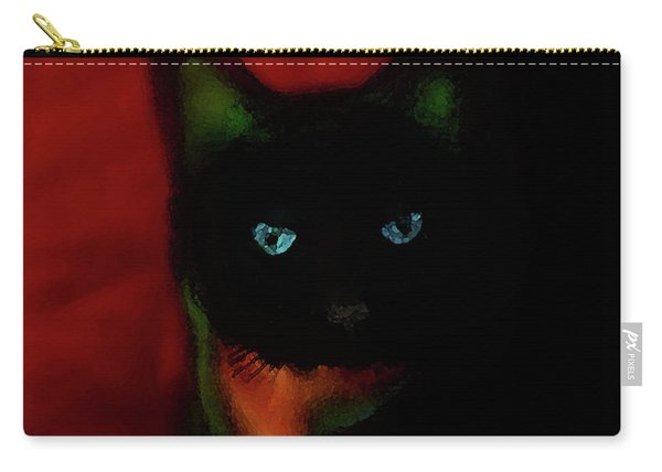 Cat Tiny You Painting Carry-all Pouch
